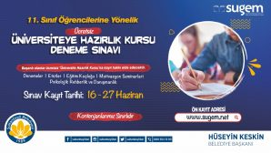 Üniversite Sınavına Hazırlık Kursları Sultanbeyli'de Başlıyor