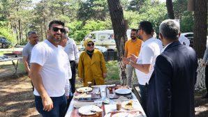 Başkan Döğücü Orman Yangınlarına Dikkat Çekme Etkinliğine katılım sağladı.