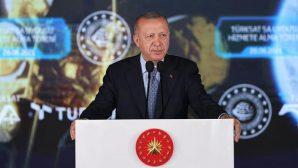 Cumhurbaşkanı Erdoğan: Türkiye kendi uydusunu üreten 10 ülke arasına girecek