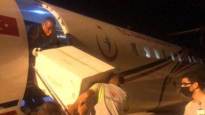 Türkiye'den KKTC'ye 50 bin doz daha aşı gönderildi
