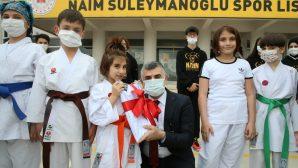 Başkan Keskin, Naim Süleymanoğlu Spor Lisesi Esat Delihasan Konferans Salonu'nun Açılışını Gerçekleştirdi