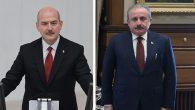 TBMM Başkanı Şentop, Bakan Soylu'yu kabul etti