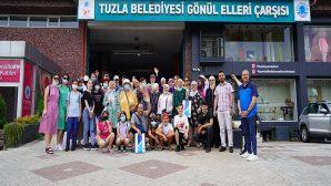 Romanya Osmanlılar Derneği Gönül Elleri Çarşısı'nı Ziyaret Etti