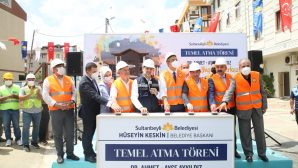 Sultanbeyli'de Engelsiz Yaşam Merkezi'nin Temeli Atıldı