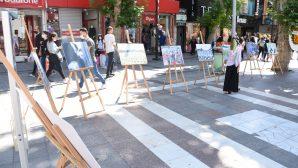 Pendik'de Srebrenitsa Katliamı sergiyle anıldı