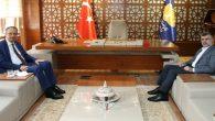 Kaymakam Kubilay'dan Başkan Keskin'e veda ziyareti