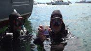 Müsilajdan Arındırılan Tuzla Denizinde Dalgıçların Çay Keyfi