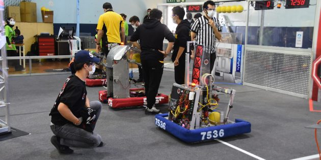Robotların kıyasıya yarışı Pendik Robot Festivali'nde