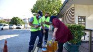 Tuzla'da Atık Yağ Biriktirene Temizlik Seti