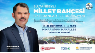 Sultanbeyli Millet Bahçesi Projesi Hayata Geçiyor